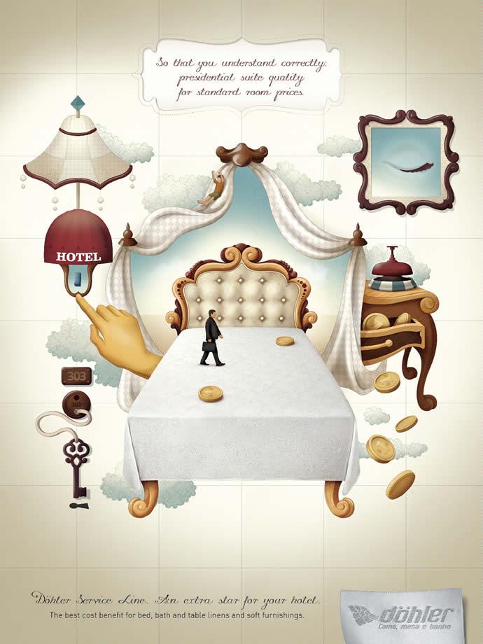 90 publicités designs et créatives de Juillet 2012 58