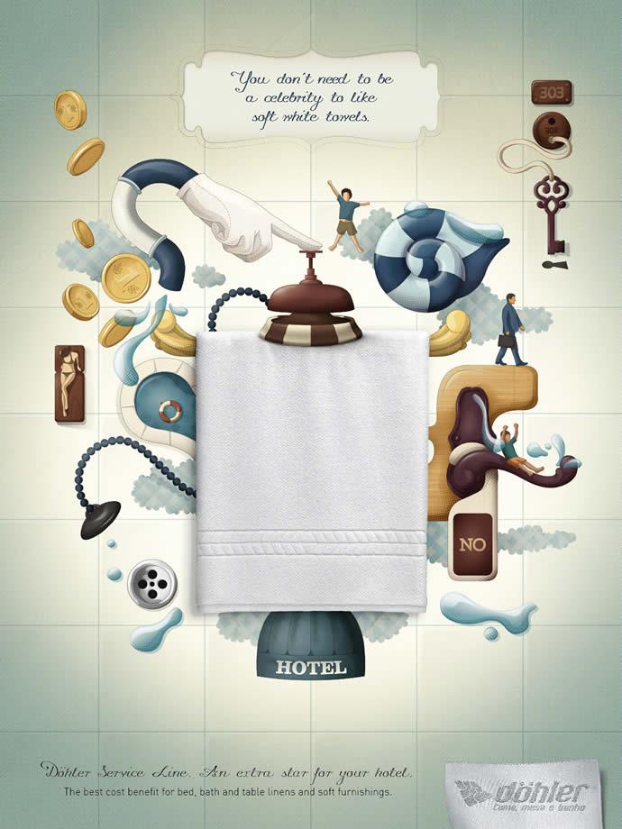 90 publicités designs et créatives de Juillet 2012 59