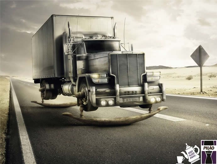 90 publicités designs et créatives de Juillet 2012 26