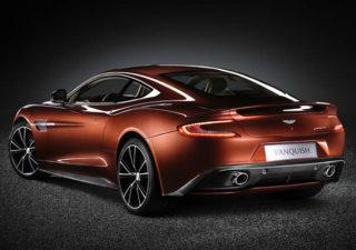 Nouvelle Aston Martin Vanquish