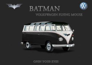 Les Combis VolksWagen Spiderman Superman et Batman