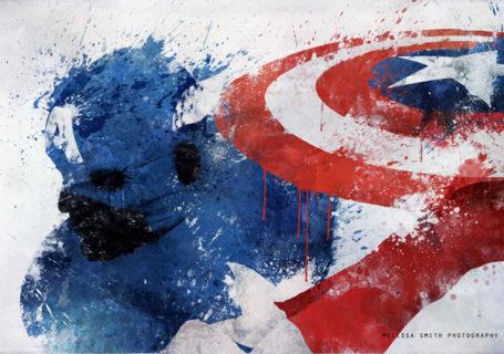 Illustrations Spash de super-héros 9