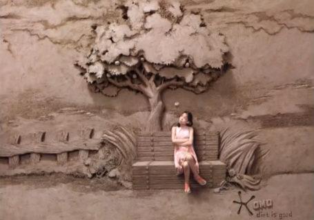 Dirt is Good - Making Of de sculptures sur Sable par le triple champion du monde 6