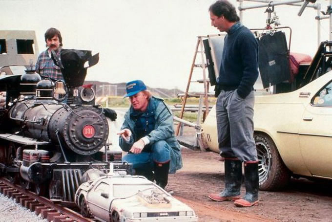 25 photos des coulisses de films 14