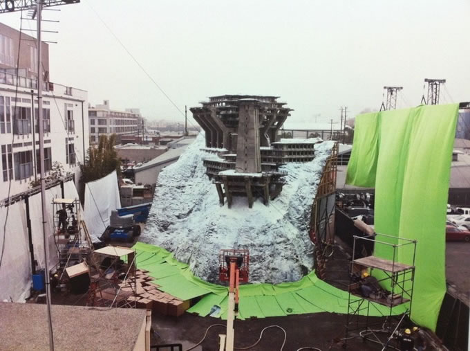 25 photos des coulisses de films 16