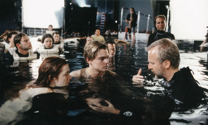 25 photos des coulisses de films 4