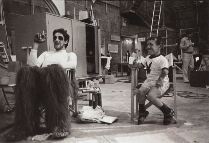 25 photos des coulisses de films 8