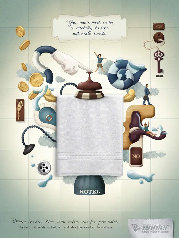 75 publicités designs et créatives d'août 2012 56