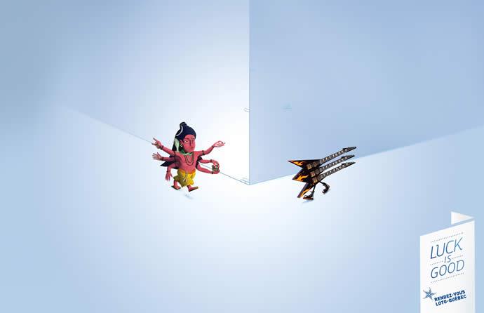 75 publicités designs et créatives d'août 2012 9