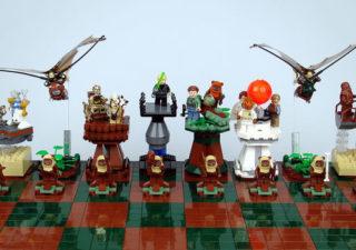 Des échiquiers Lego StarWars