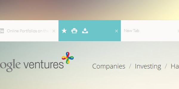 Un concept DesignUI ultra clean de Google Chrome 2