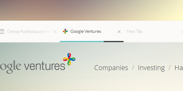 Un concept DesignUI ultra clean de Google Chrome 4