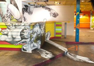 Fresque 3D - Robot by TSFcrew