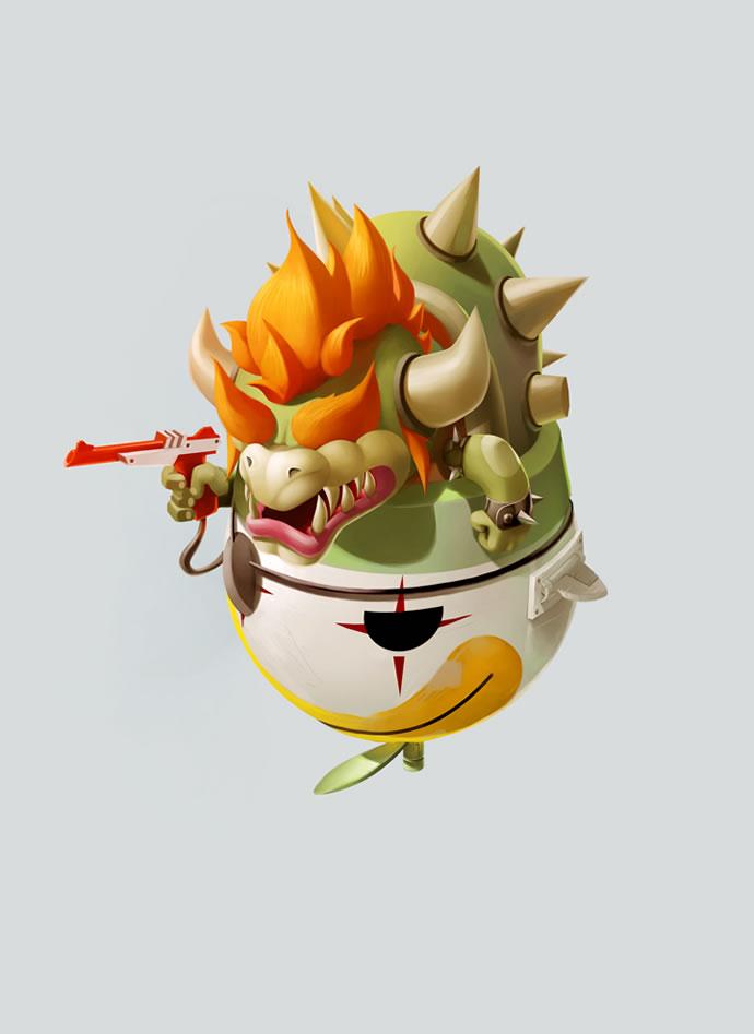 Série de posters de personnages de jeux vidéos - Good vs Bad vs Good 4
