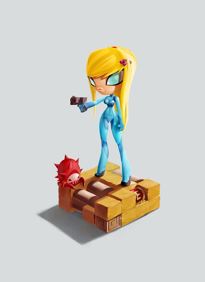 Série de posters de personnages de jeux vidéos - Good vs Bad vs Good 6