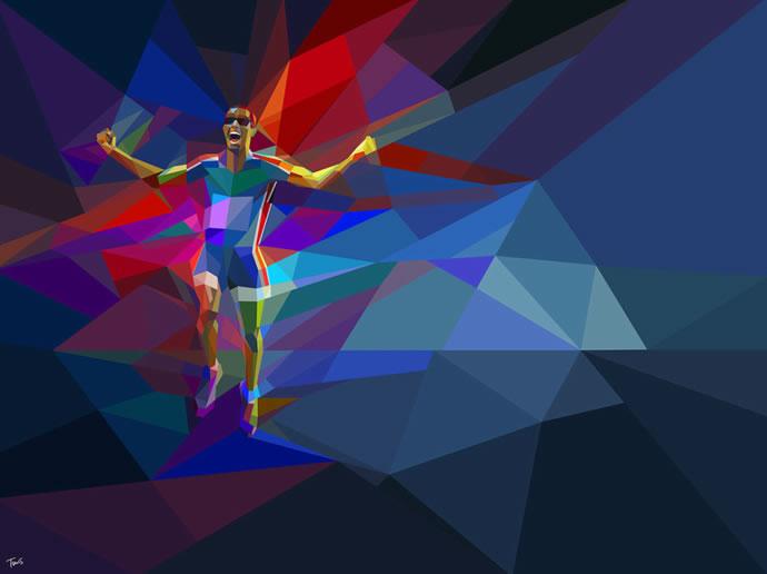 Illustrations géométriques des JO 2012 par Charis Tsevis 5