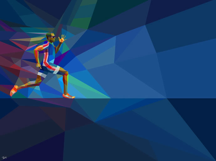 Illustrations géométriques des JO 2012 par Charis Tsevis 9
