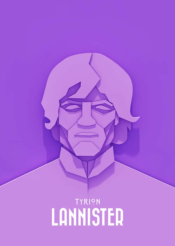 Superbes posters Walter White, Tyrion Lannister et Sherlock Holmes 4