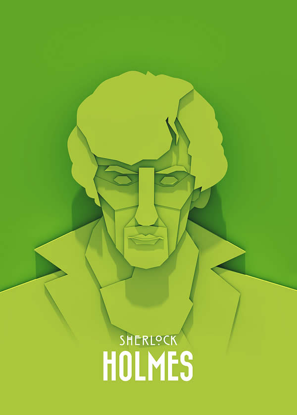 Superbes posters Walter White, Tyrion Lannister et Sherlock Holmes 5
