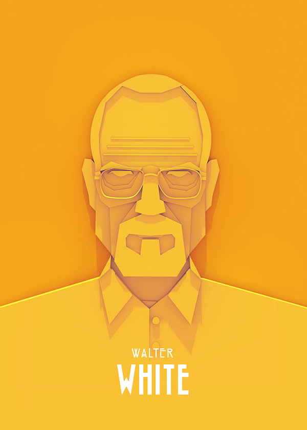 Superbes posters Walter White, Tyrion Lannister et Sherlock Holmes 6
