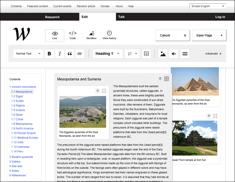Wikipedia redefined - une nouvelle interface 11