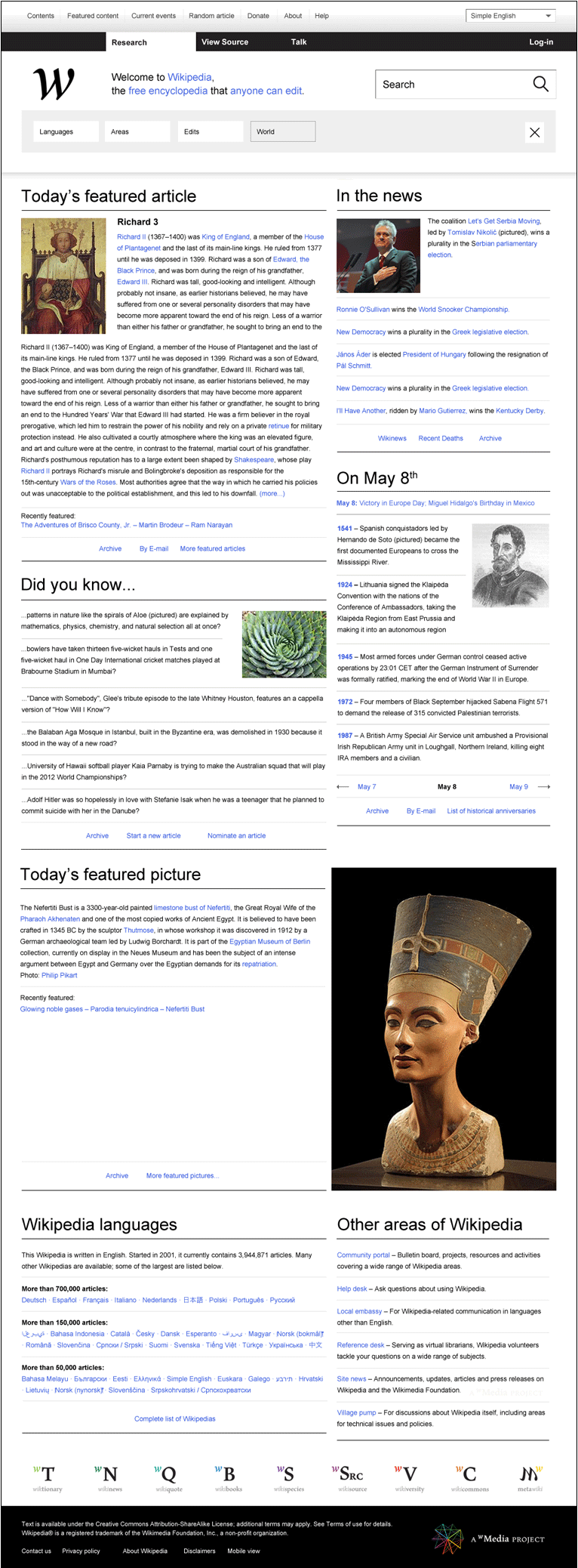 Wikipedia redefined - une nouvelle interface 12