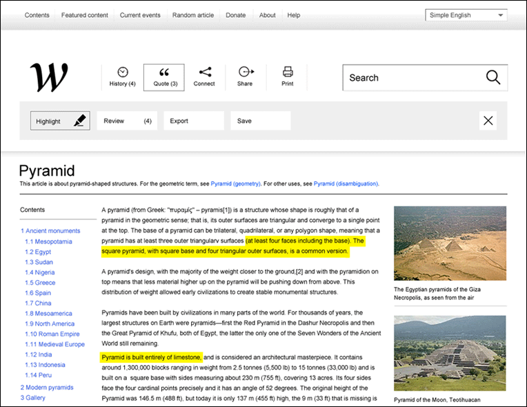 Wikipedia redefined - une nouvelle interface 7