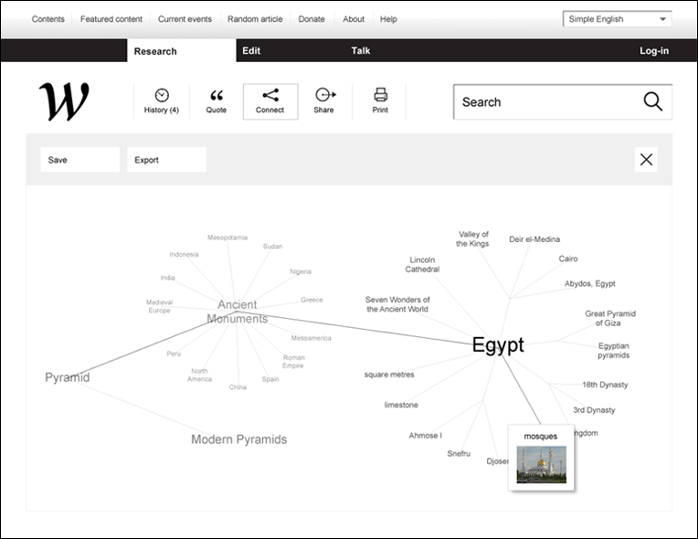 Wikipedia redefined - une nouvelle interface 9