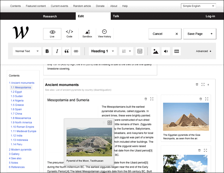 Wikipedia redefined - une nouvelle interface 10