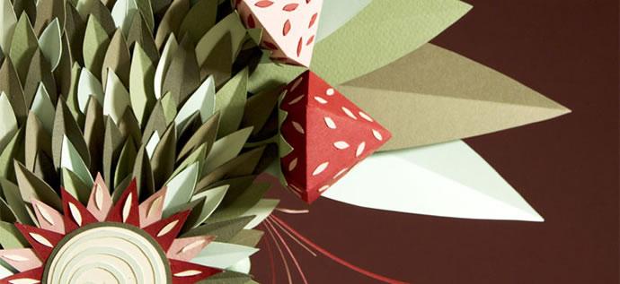 Des masques gastronomiques en papier par Zim & Zou 2
