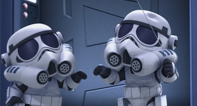 Star Wars Detours - le Trailer 3