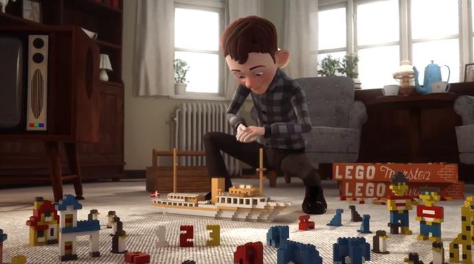 The LEGO Story - Animation pour les 80ans de LEGO 3