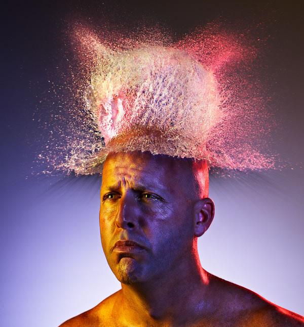 Water Wigs - des chapeaux en eau 8