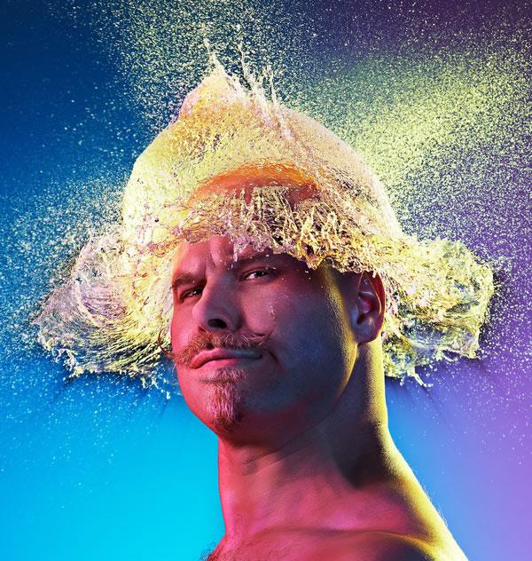 Water Wigs - des chapeaux en eau 12