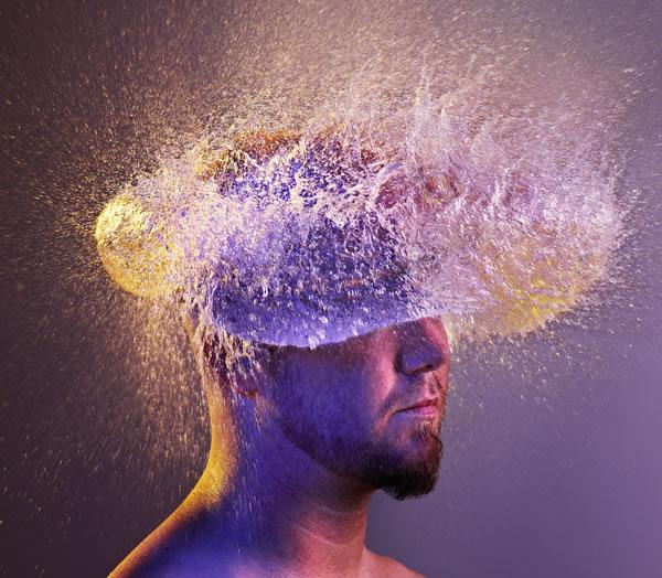 Water Wigs - des chapeaux en eau 14