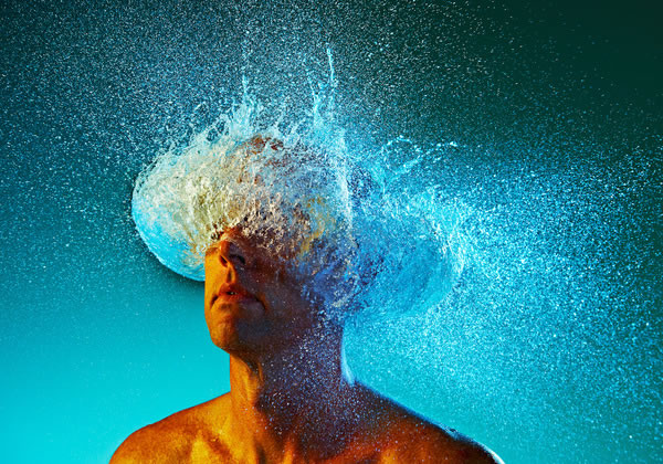 Water Wigs - des chapeaux en eau 2