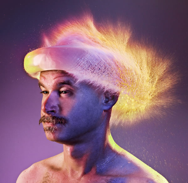 Water Wigs - des chapeaux en eau 4