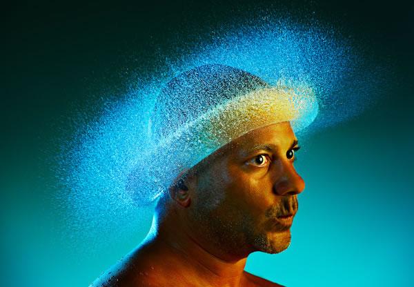 Water Wigs - des chapeaux en eau 5