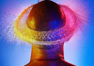Water Wigs - des chapeaux en eau