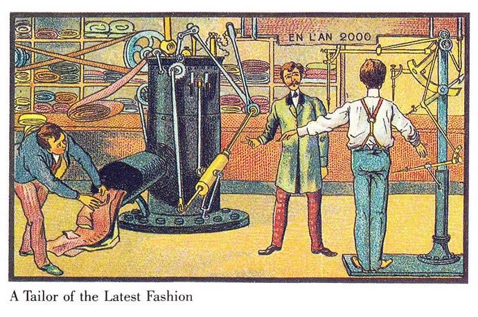 Comment on voyait l'an 2000 en 1899 8
