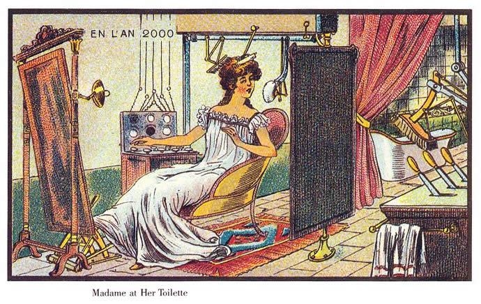 Comment on voyait l'an 2000 en 1899 14
