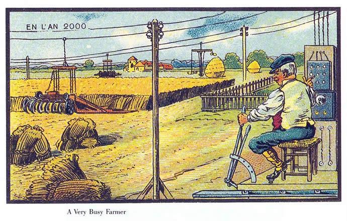 Comment on voyait l'an 2000 en 1899 5