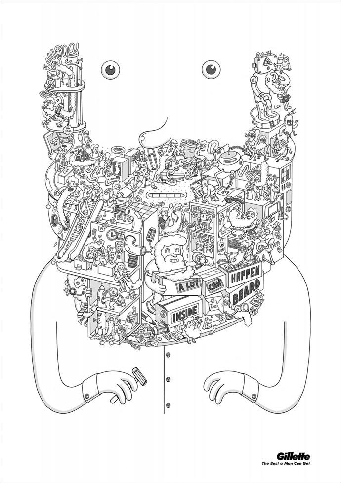 60 publicités designs et créatives de Septembre 2012 32
