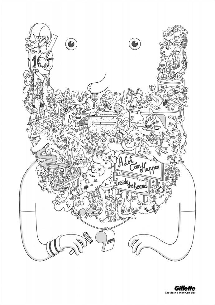 60 publicités designs et créatives de Septembre 2012 33