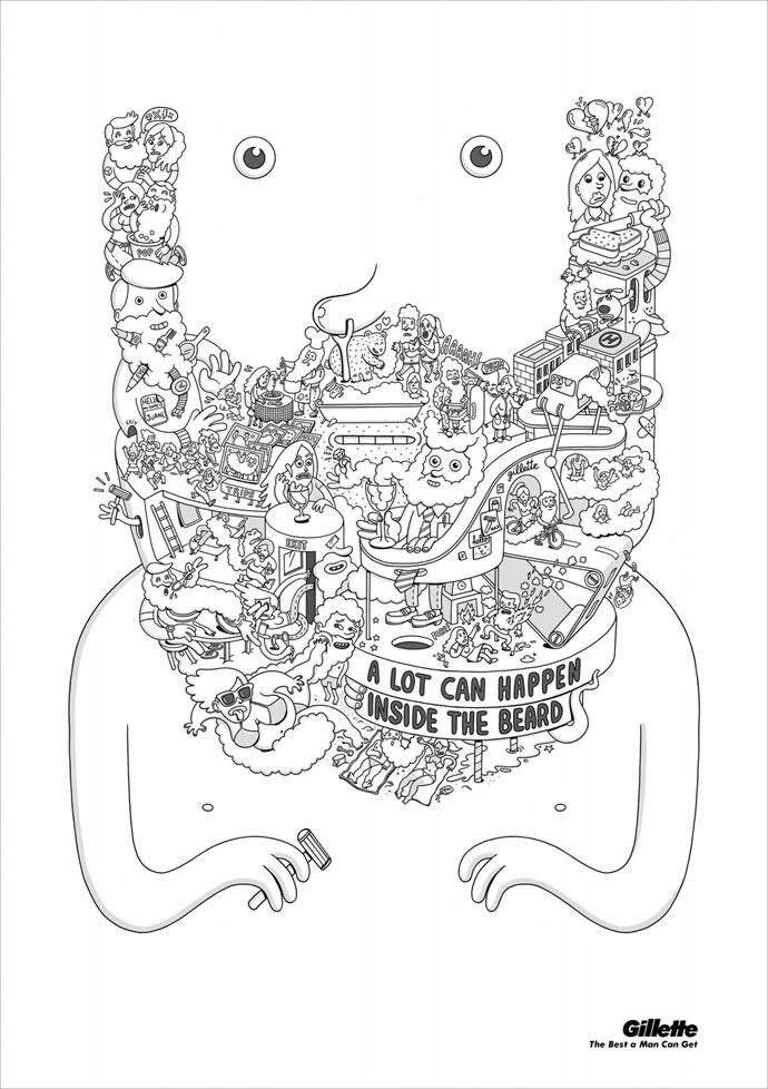 60 publicités designs et créatives de Septembre 2012 34