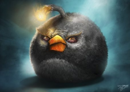 Superbes illustrations Angry Birds par Sam Prat 3