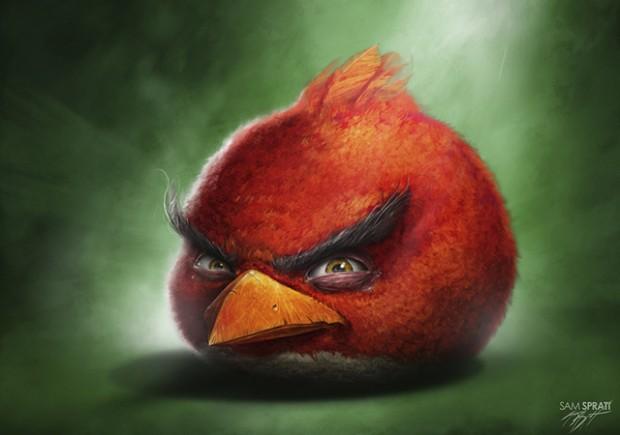 Superbes illustrations Angry Birds par Sam Prat 4