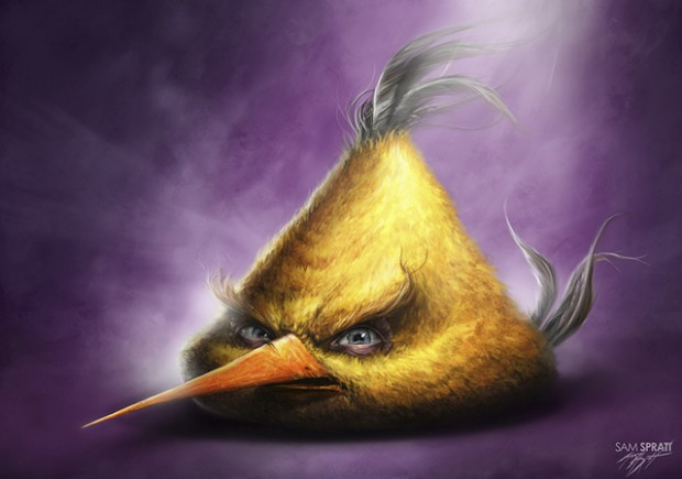 Superbes illustrations Angry Birds par Sam Prat 5