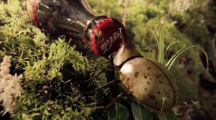 """Superbe pub pour du Coca-Cola """"Heist""""  3"""