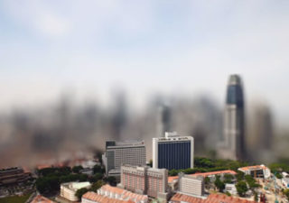 The Lion City - Timelapse + TiltShift + Blur 1